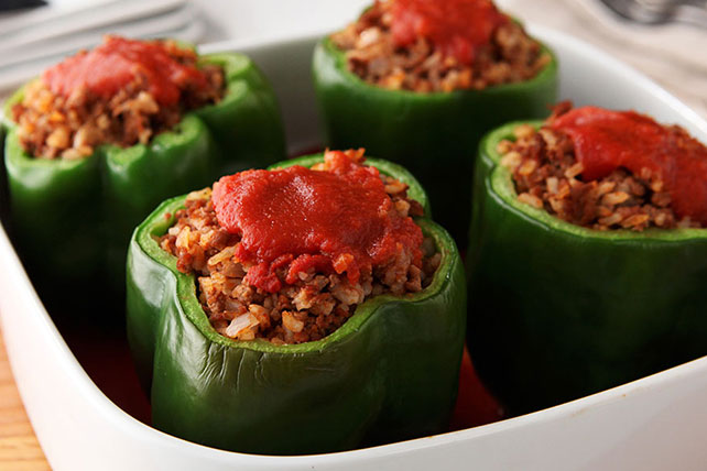 easy stuffed peppers stuffed bell peppers 4 cycles of inc 30605